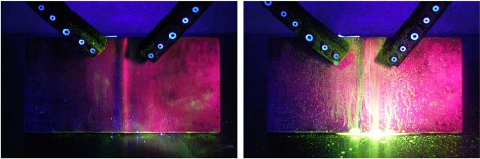 Resultado de imagem para particulas magneticas fluorescentes